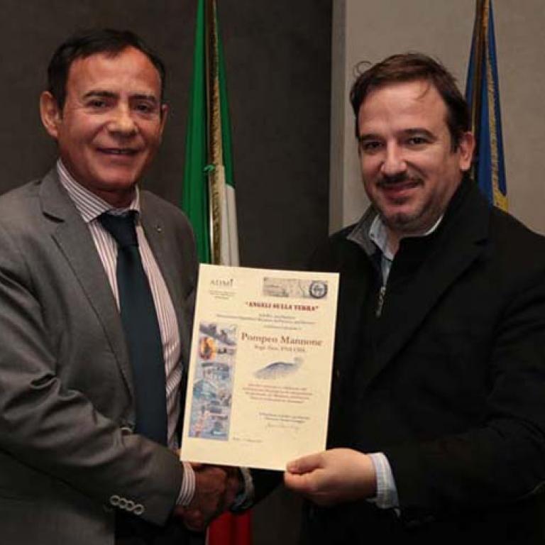 Pompeo Mannone Segr. Gen. FNS CISL dei Vigili del Fuoco
