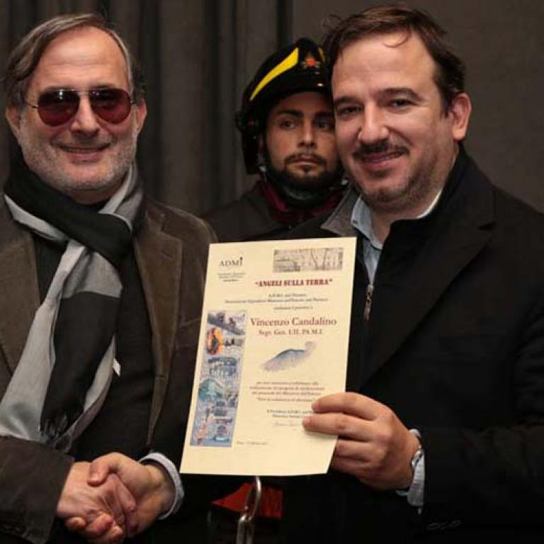 Vincenzo Candalino Segr. Gen. UIL M.I.