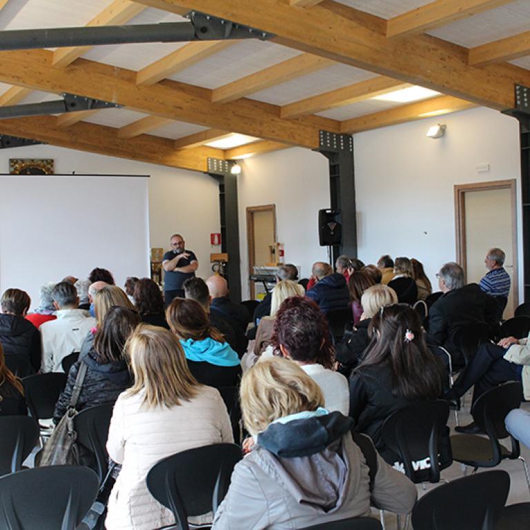 Convegno nella chiesa di Norcia